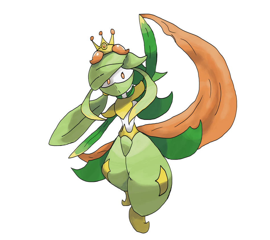 Mega Lilligant by locomotive111 : pokemon