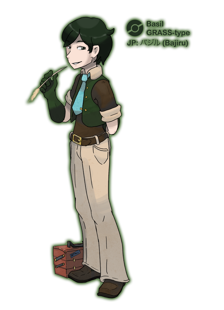 Gym Leader Basil by locomotive111
