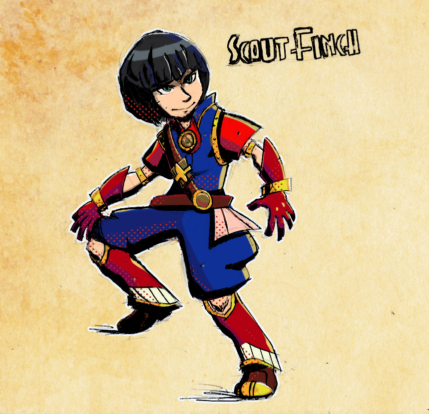 S.T.E.A.M.: Scout Finch by locomotive111