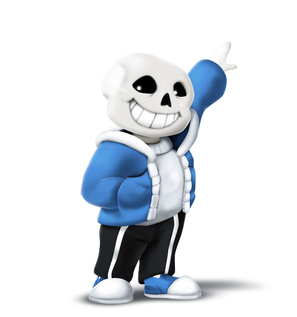 Dimensional Clash: ☆Somniverse Rising☆ [CHAR] Sans_ssb_transparency__by_locomotive111-d9gu88u