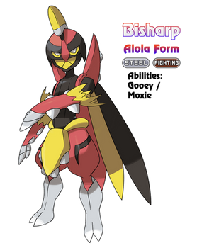 Bisharp - Alola Form