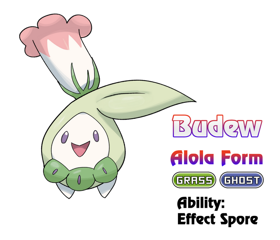 budew alola form by locomotive111 on deviantart. Black Bedroom Furniture Sets. Home Design Ideas