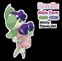 Roselia - Alola Form by locomotive111