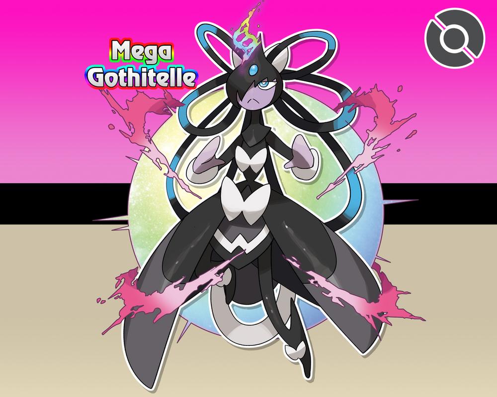 Gothitelle Evolution #202-M Mega Got...