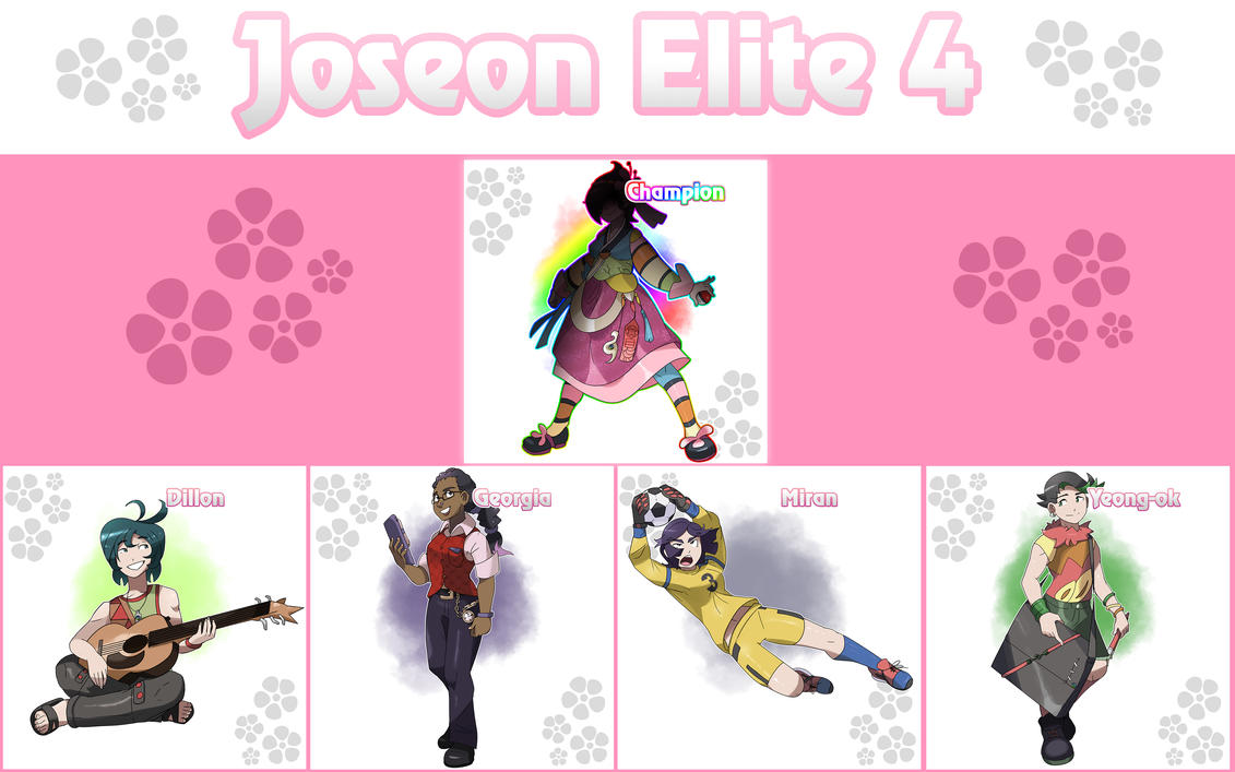 Joseon Region Elite 4 by locomotive111