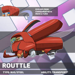 Routtle (Galarian Evolution) by locomotive111