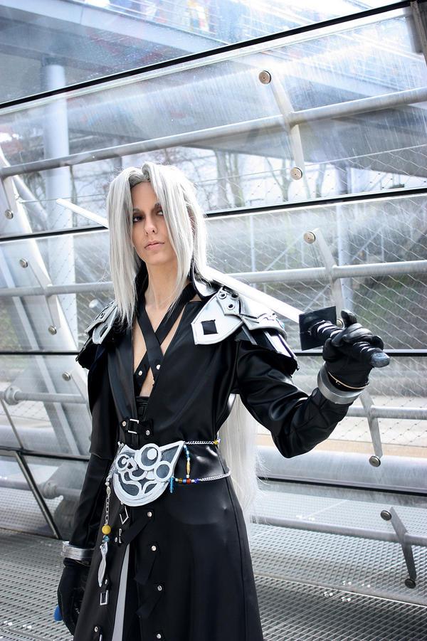Final Fantasy Sephiroth Cosplay Sephiroth: Aura of arr...