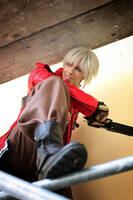 Dante Cosplay - Hey there by Abessinier