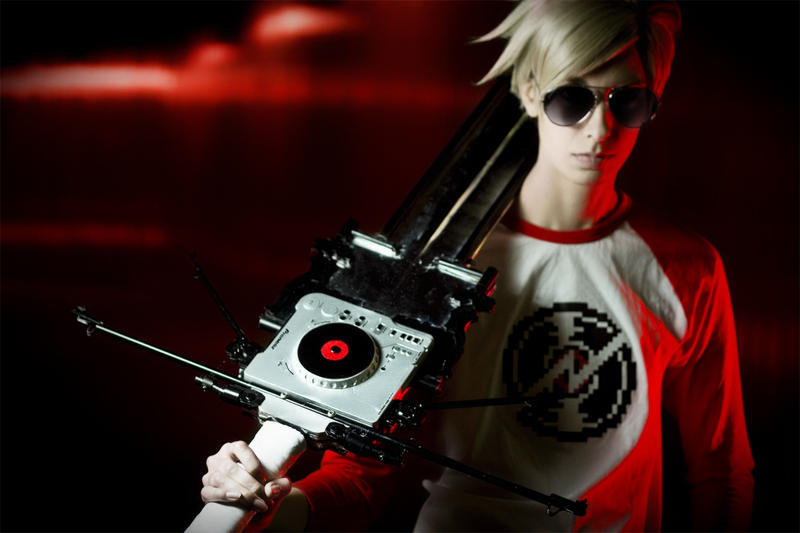 Dave Strider Cosplay: With Caledscratch by Abessinier