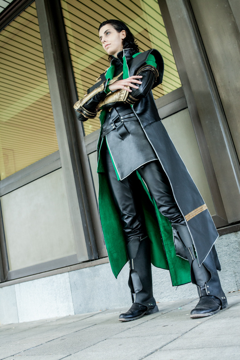 Loki Cosplay (Marvel's the Avengers) by Abessinier