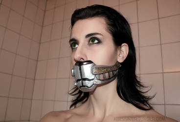 Loki Cosplay: Muzzle by Abessinier