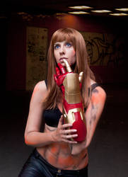 Pepper Potts Iron Man 3 Cosplay - Extremis