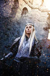 Thranduil Cosplay : Armored Elvenking