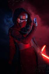 Kylo Ren Cosplay - The Dark Side by Abessinier