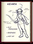 Riggs's Journal - Page 1: Keara