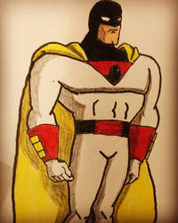 #space ghost  by goblinking75