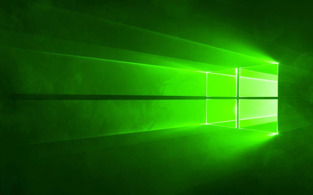 Windows 10 Hero Wallpaper In Green By Gtagame On Deviantart