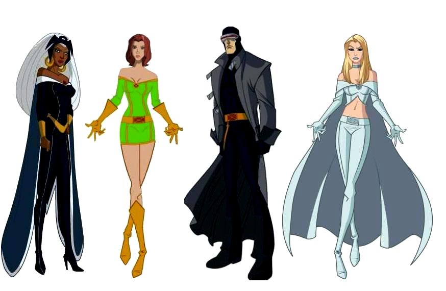 X Men Cyclops And Emma Frost Storm  Cyclops  Emma Frost