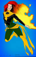Phoenix Jean Grey by Kris Anka by marvelboy1974