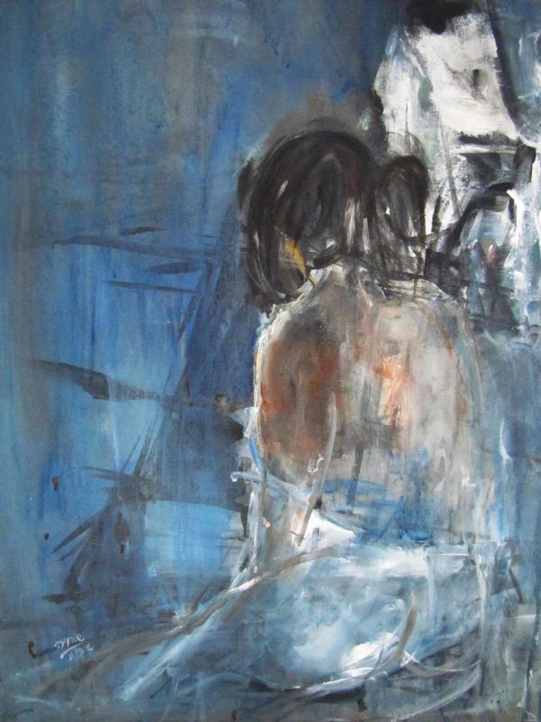 Sadness -  Acrylic  5*