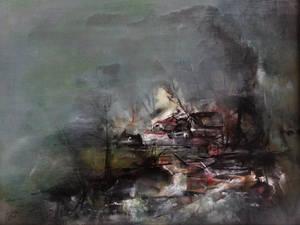 Thundering  Silence - Acrylic  45
