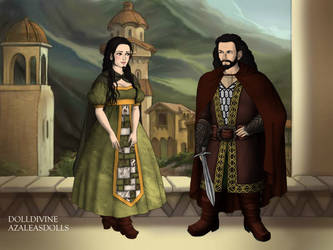 Lord Thorin and Lady Dis by Hack-Girl