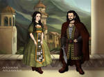 Lord Thorin and Lady Dis