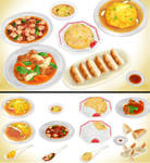 Chinese Food pack MMD download