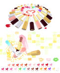MMD Lipstick cosmetic pack Download
