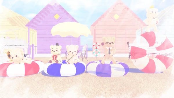 Beach accessories MMD Download by Hack-Girl