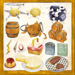 Serving Atelier series item collection MMD DL
