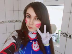 D.Va cosplay W.I.P PLUS VIDEO LINK