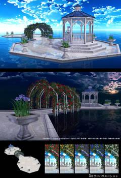 MMD STAGE DOWNLOAD Garden Stage