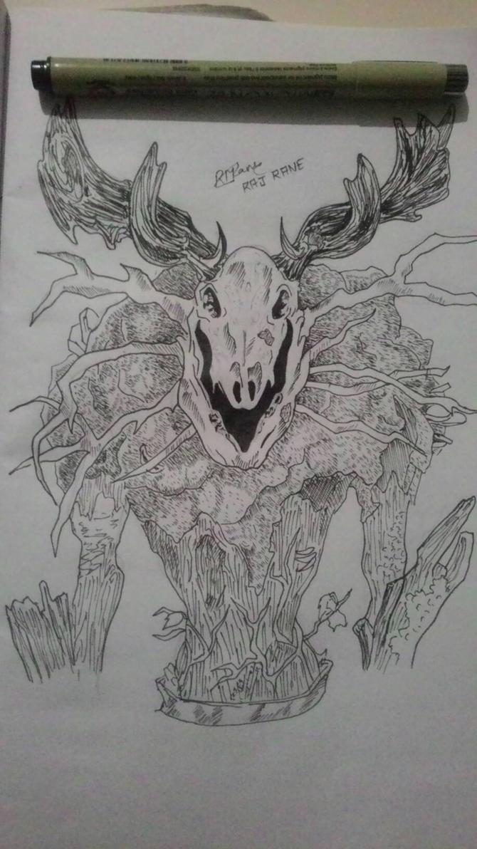 Leshen ( Witcher ) by BlazingRaz36