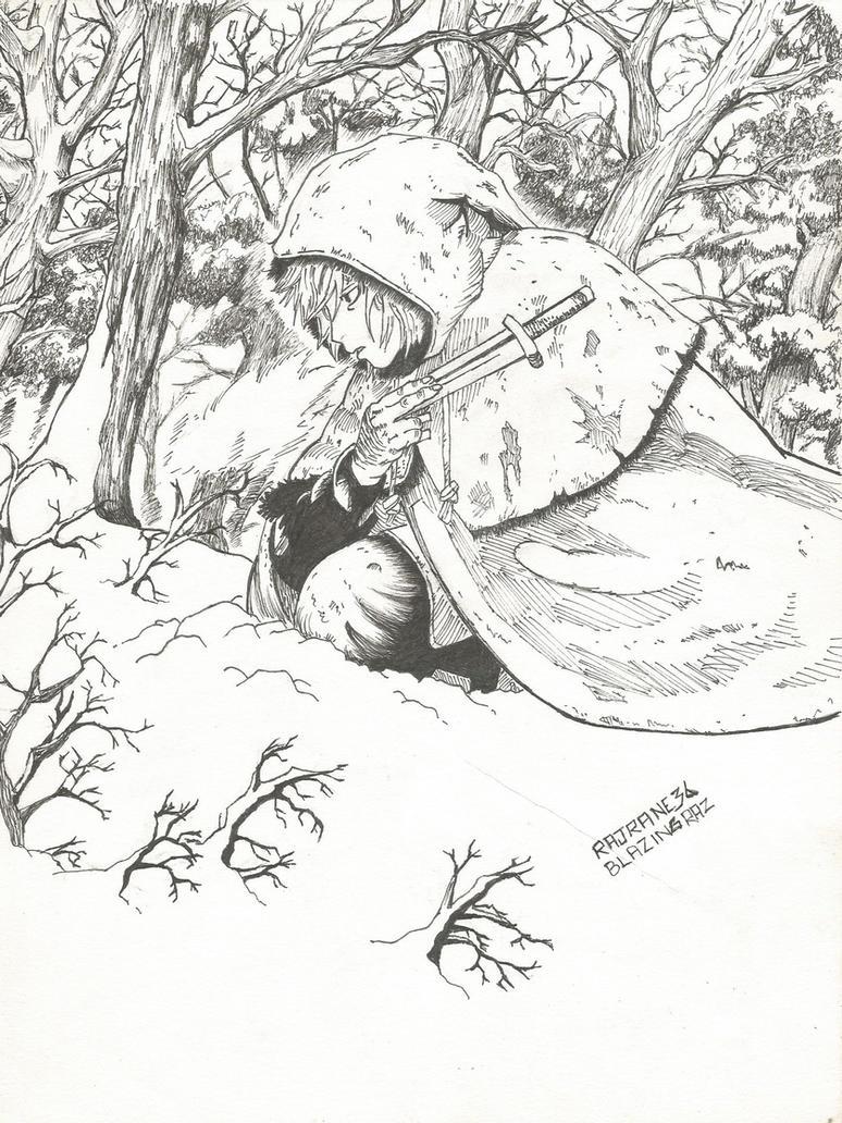Thorfinn - Vinland Saga by BlazingRaz36