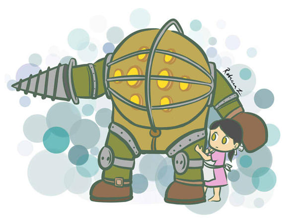 Mr. Bubbles got your back! by habituals