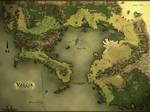 Valcia - Regional Fantasy Map