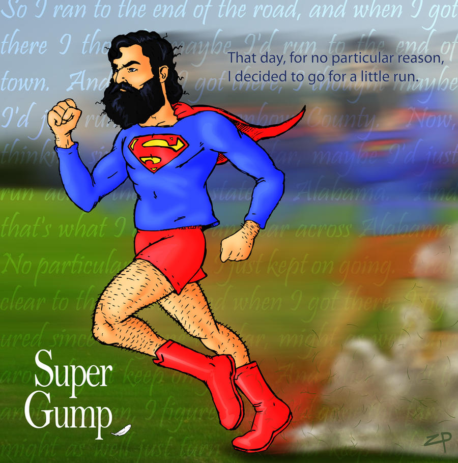 Super Gump: Across America by ZacPensol