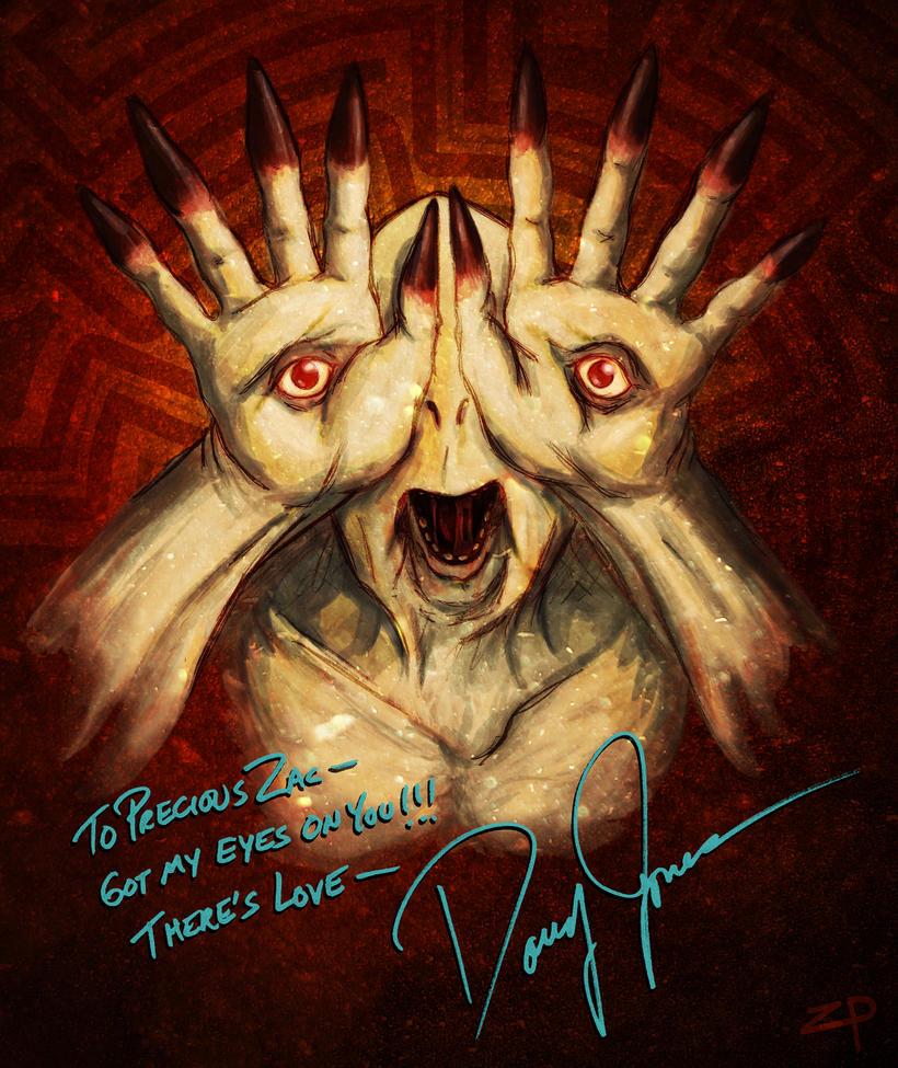 Pale Man, signed by Doug Jones by ZacPensol