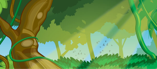 Jungle Vector By Hicodycod3s On Deviantart