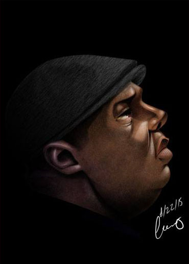 Notorious BIG by hicodycod3s