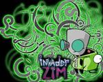 Invader Zim: Gir Wallpaper by holdingontobelieve