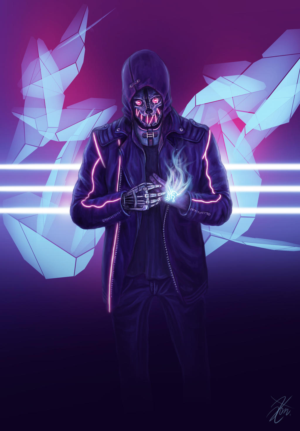 Cyber Corvo by c0nNy on DeviantArt
