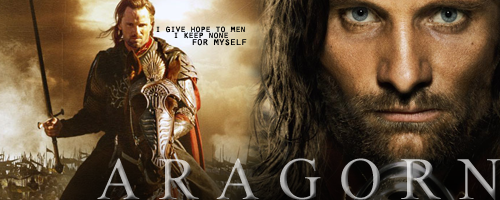 Aragorn by x3urgent