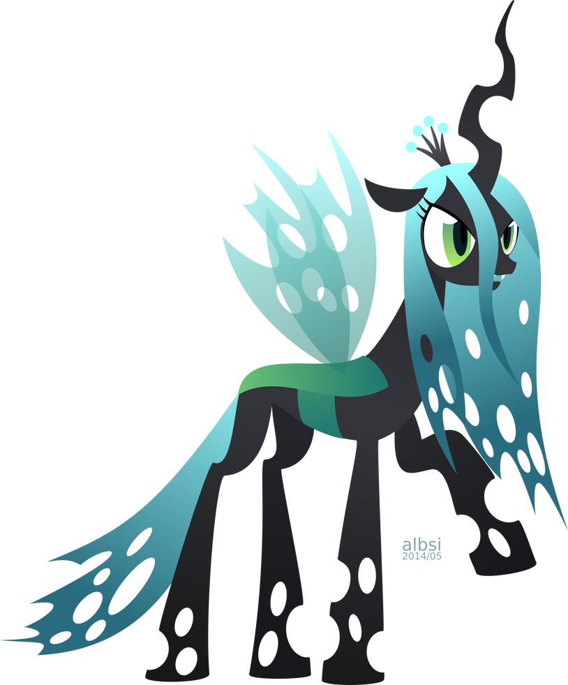 Queen Chrysalis by albsi