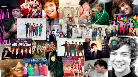 Harry Styles 2014 Tumblr Collage