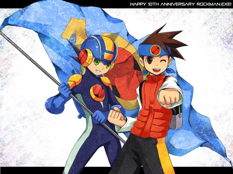 Happy 10th Anniversary Rockman by retrozero
