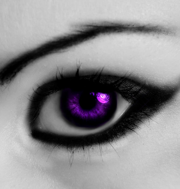 Violet Eyes by chaos-kristina007 on DeviantArt