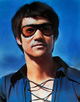 Bruce Lee by XNextBigThingX