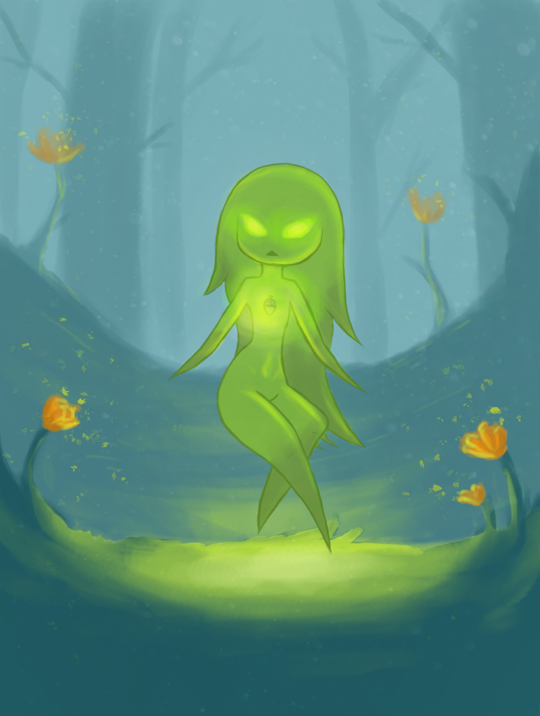 Nature sprite by Emi-Sagara55